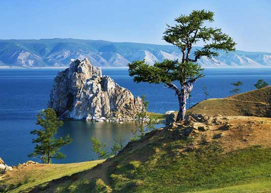 Lake Baikal is the largest fresh water lake on Earth.