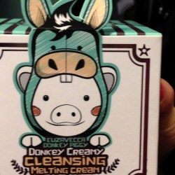 Elizavecca Donkey Creamy Cleansing Melting Cream that TK Maxx has taken off its shelves.