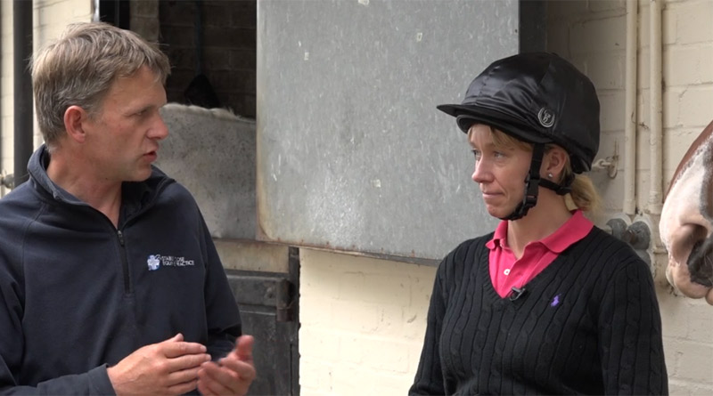 Horse vet Malcolm Morley chats with vet and equine behaviourist Gemma Pearson, whose videos provide quick and simple ways of teaching horses to be quiet, relaxed and safe for injections.