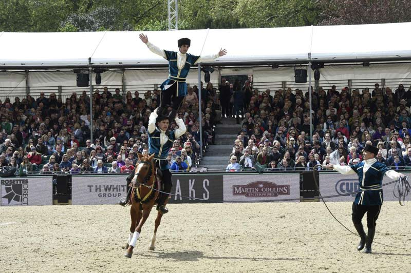 The Equestrian Federation of Azerbaijan and the Household Cavalry Mounted Band are among the equestrian performers at this year's Royal Windsor Horse Show.