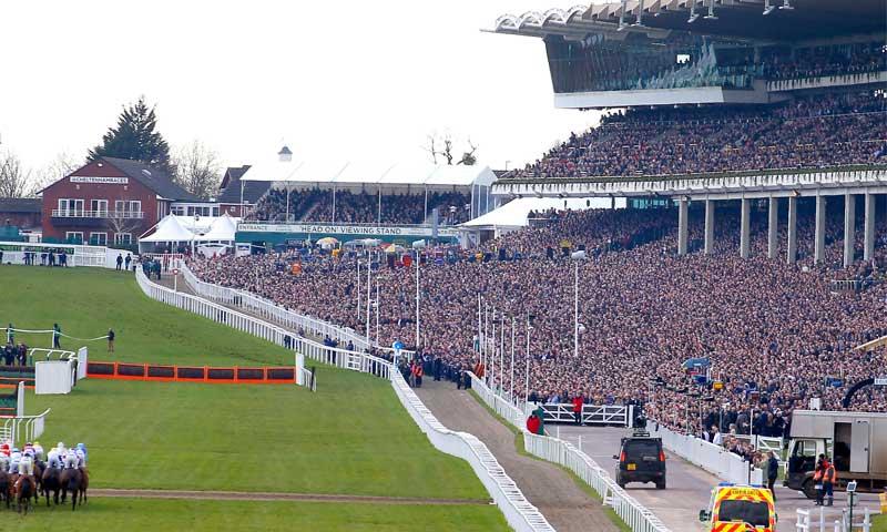 The annual four-day Cheltenham Festival draws huge crowds. Photo: BHA