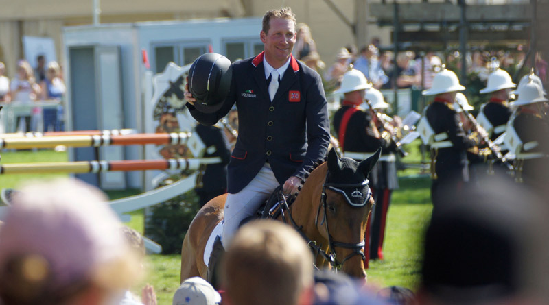 Oliver Townend and Cooley SRS finished second, just missing out on completing eventing's Grand Slam after his wins at Burghley and Kentucky.
