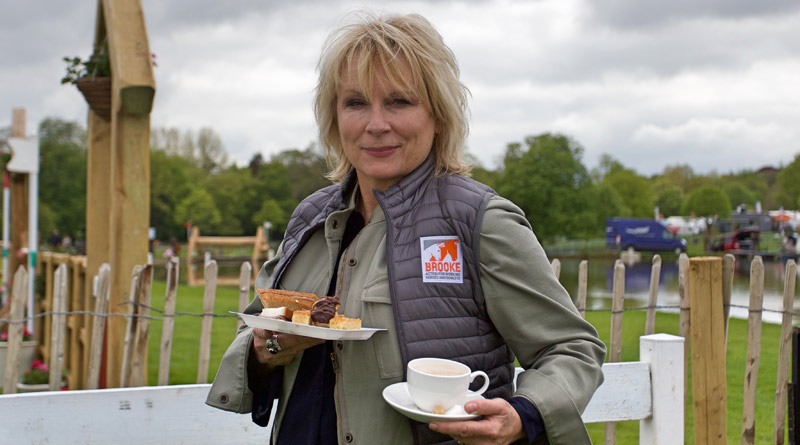 "Jennifer Saunders is supporting Brooke's ""High Teas for Gee Gees"" campaign, marking founder Dorothy Brooke's birthday on June 1."