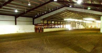 Horse and human health impacts of indoor arenas explored