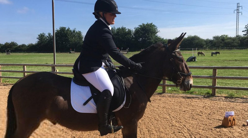 Wallace the Great and Christie Mclean are now allowed to take part in affiliated dressage competitions.