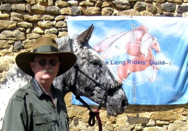 CuChullaine O'Reilly has helped hundreds of equestrian explorers, as founder of the Long Riders' Guild.