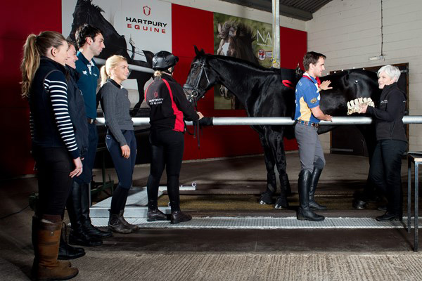 Dr Kathryn Nankervis, Principal Lecturer in Equine Therapy at Hartpury.