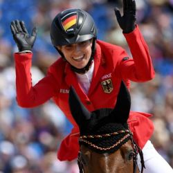 WEG winners: Germany's Simone Blum takes jumping gold