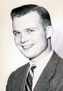 Ed Fallon in 1956