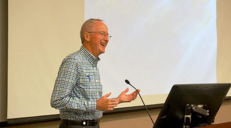 Dr Ed Robinson. © Michigan State University