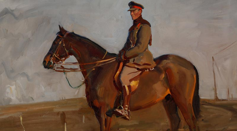 Major-General The Right Honourable Jack Seely, 1918.