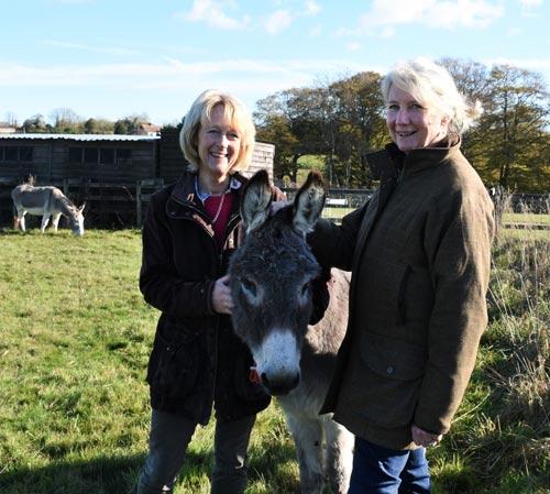 Donkeys Matter garden designersAnnie Prebensen and Christina Williams.