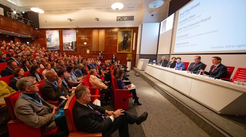 Delegates at the 2019 National Equine Forum in London.