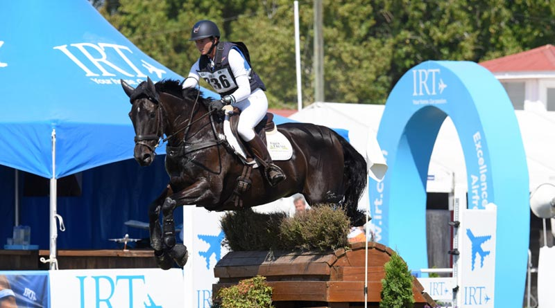 Horse of the Year show CCI3* winnerSamantha Lissington on Ricker Ridge Sooty GNZ.