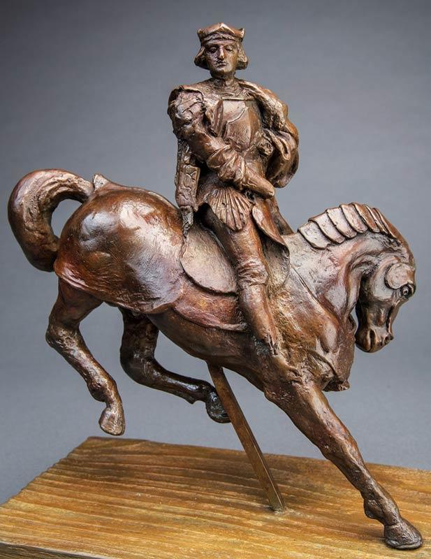 "Sale of rare ""Horse and Rider"" marks 500th anniversary of Leonardo's death"