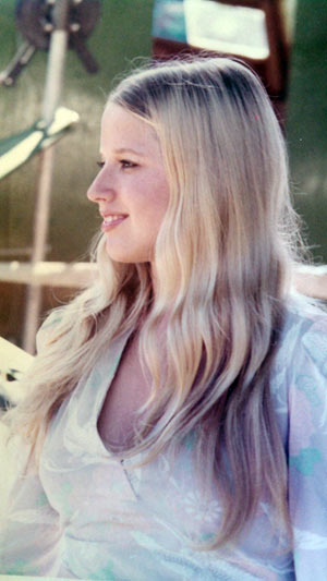 Laura Simpson, pictured in about 1972.