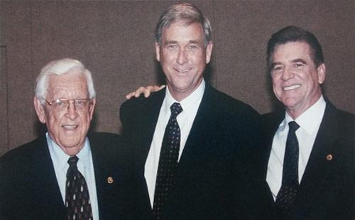 TFB Equine founders, from left Dr Melbourne Teigland, Dr Thomas Brokken, and Dr, Benjamin Franklin Jr.