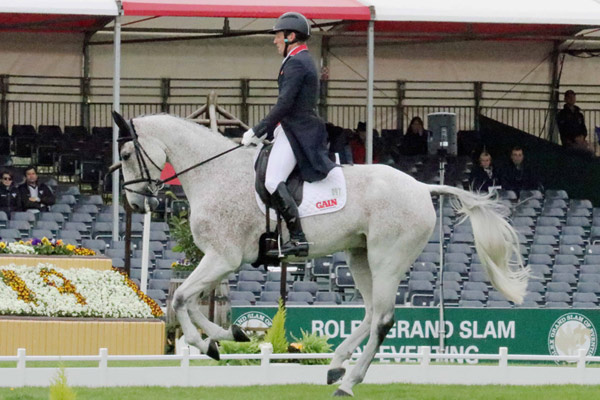 Oliver Townend (GBR) and Ballaghmor Class.