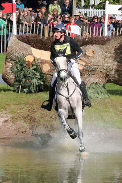 Badminton leaders Oliver Townend (GBR) and Ballaghmor Class.