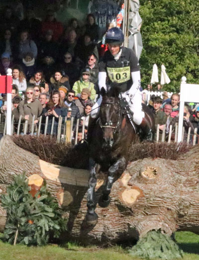 William Fox-Pitt (GBR) and Oratorio.