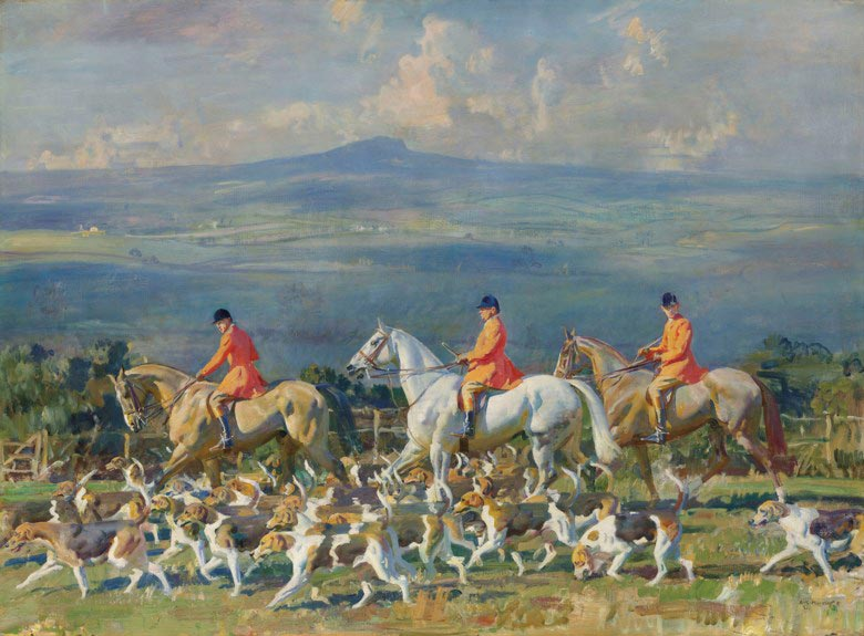 The Bramham Moor Hounds at Weeton Whin is expected to fetch between £1.5 million and £2 million at auction in London on July 11.
