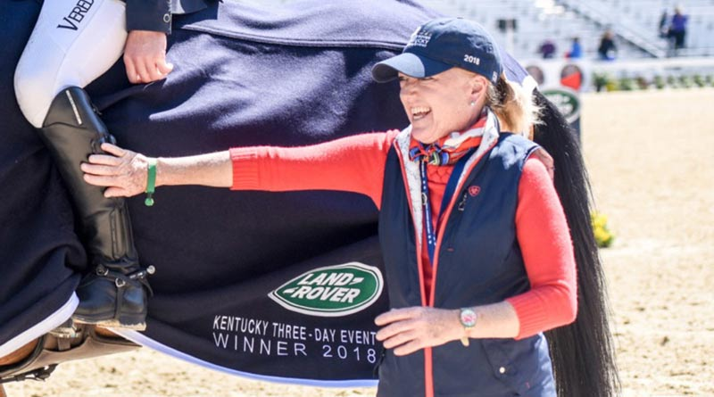 Ann Haller at this year's Kentucky Three Day Event.