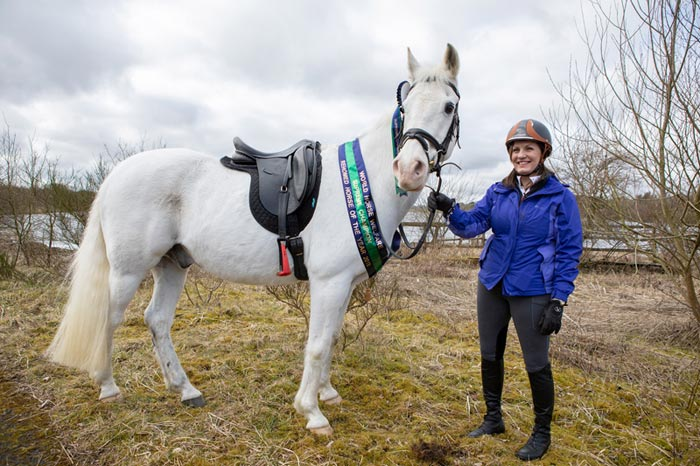 Tinto has been named World Horse Welfare Rehomed Horse of the Year 2018.