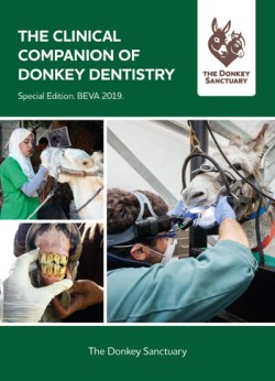 The Clinical Companion of Donkey Dentistry is available for free download now, and a textbook will be available later in the year.