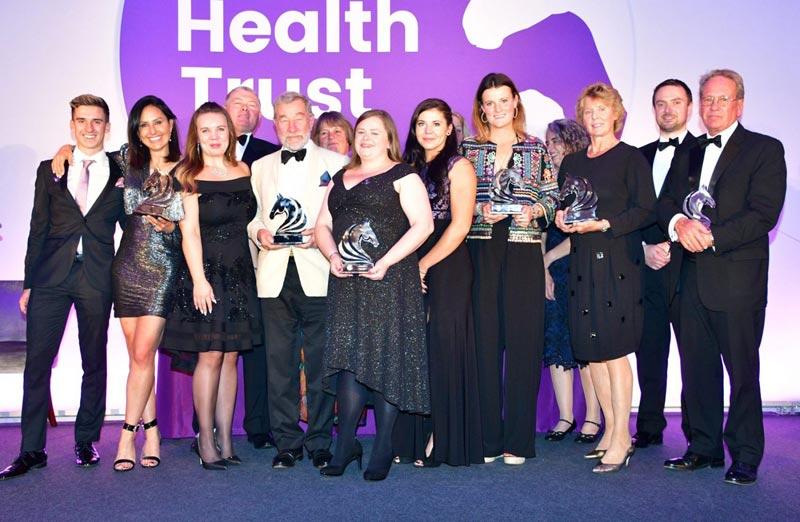 The 2019 Animal Health Trust UK Equestrian Award winners.