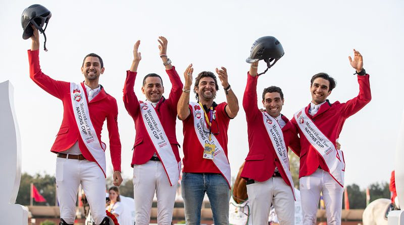The Egyptian team won the Olympic Jumping qualifier at Rabat in Morocco and earned one of the two places on offer for the Tokyo 2020 Olympic Games.