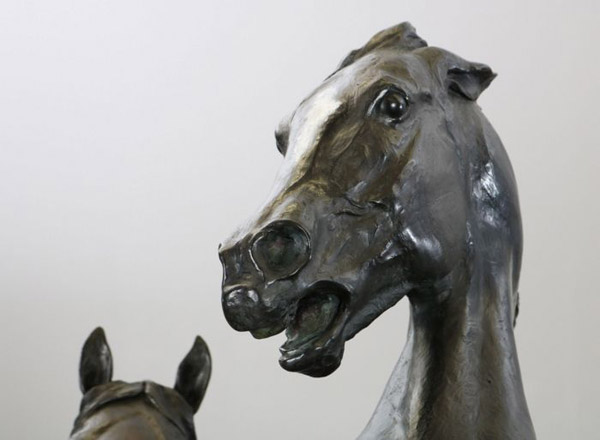 Detail from Wild Ponies, by Gwen Reardon.