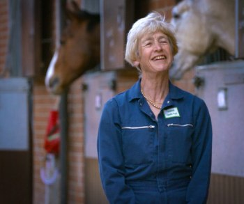 """""""I was becoming increasingly concerned by the number of riders who were ignoring their horses' problems for far too long,"""" Dr Sue Dyson said."""