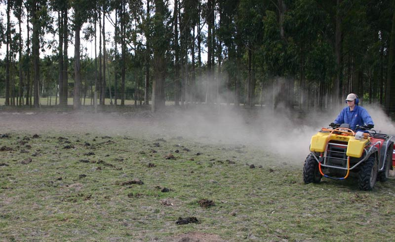 Across all four farm socio-economic classes, the most common grassland maintenance practices were harrowing (87% of paddocks) and topping (71%), followed by rolling (31%).