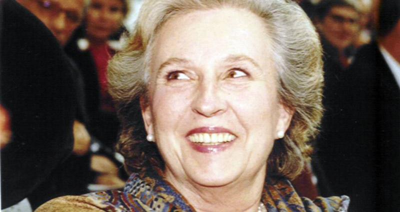 The Infanta Doña Pilar de Borbón (1936-2020).