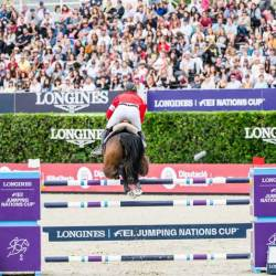Big crowds enjoyed the action at the 2019 Longines FEI Jumping Nations Cup Final in Barcelona. © FEI/Lukasz Kowalski