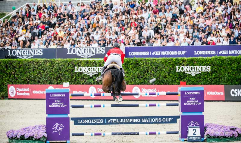 Big crowds enjoyed the action at the 2019 Longines FEI Jumping Nations Cup Final in Barcelona.