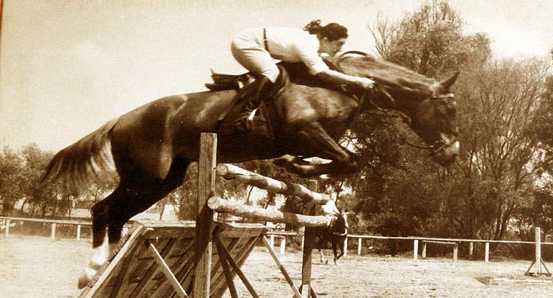 Flor Isava Fonseca represented Venezuela in showjumping at the 1956 Olympic Games.