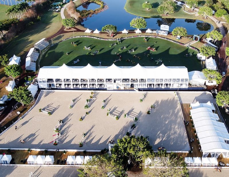 ArenaGreen Footing has been installed at The Palm Beach Masters Series CSI5* and CSI2* at Deeridge Farm in Wellington, Florida.