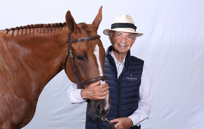 Nelson Pessoa is retiring as a horse breeder but will continue coaching riders.