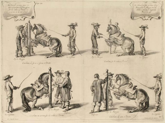 from A General System of Horsemanship (1743).