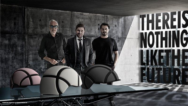 The design team, from left, Ulrik Jensen, Daniel Bünger and Wil Marschall.