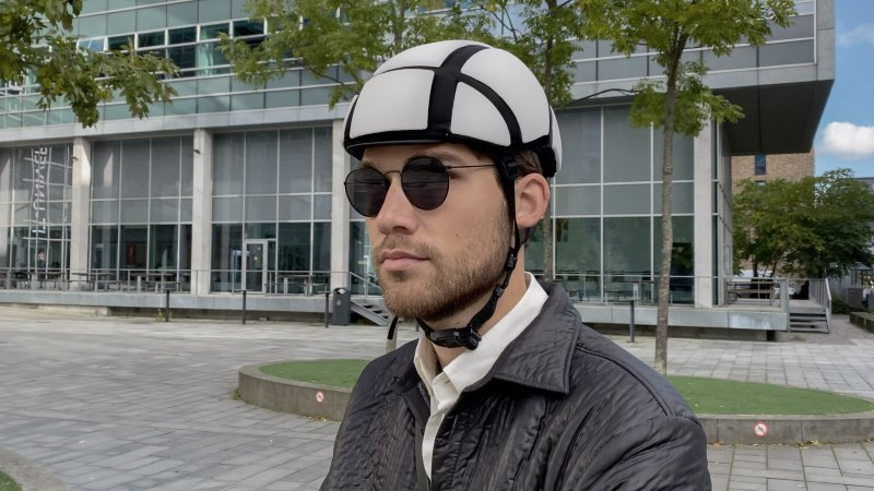 The Newton-Rider cycle helmet is reusable after an impact.