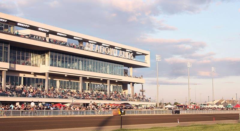 Meadowlands Racetrack.