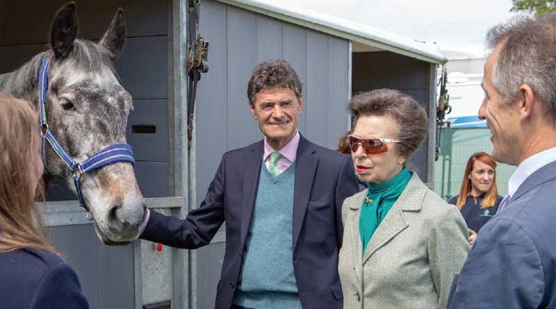 Princess Anne, The Princess Royal, is president of World Horse Welfare.