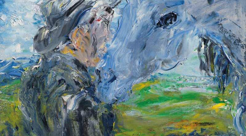 Until We Meet Again, by Jack Butler Yeats, R.H.A. (1871-1957).