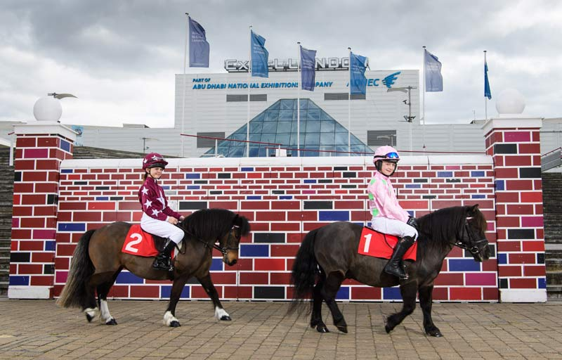 The Shetland Pony Grand National is a highlight of Olympia, The London International Horse Show.