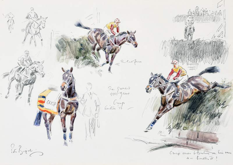 Peter Biegel's The Gamest of the Game, Crisp, Aintree, 1973.