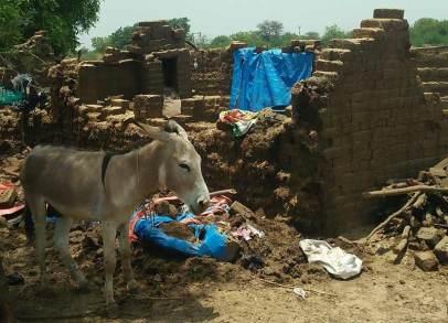 Many brick kilns in Bharuch were damaged by Cyclone Tauktae.