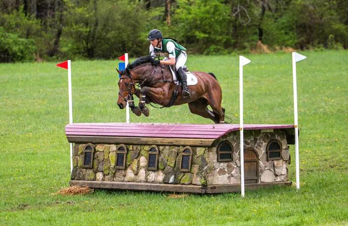 Eventing at Fair Hill in Maryland. The venue will host one of the USA's two 5-star horse trials events in October.