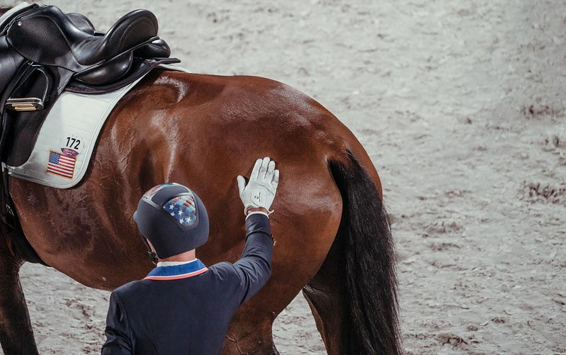 Steffen Peters and Supperkasper helped the USA to team silver at Tokyo 2020.